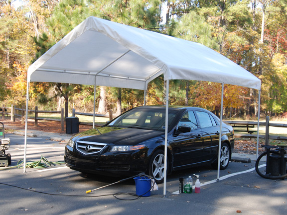 King canopy 10 x 13 universal outdoor canopy shelter for Toldos para carros