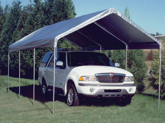 King Canopy 10 X 20 Universal Outdoor Canopy Shelter   Silver
