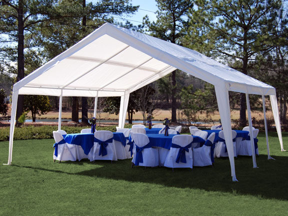 King Canopy 12X20 to 20X20 Expandable A-Frame Canopy & Canopy 12X20 to 20X20 Expandable A-Frame Canopy