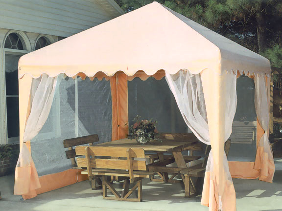 King Canopy 13 Foot X 13 Foot Garden Party Canopy With