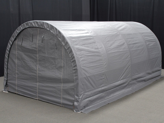 King Canopy Enclosed 10 Foot x 20 Foot Domed Garage Canopy