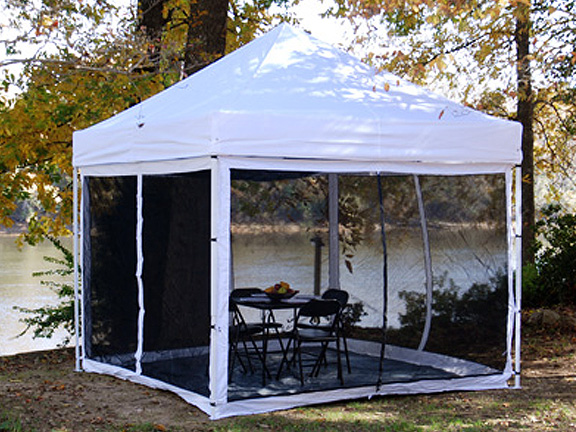 King Canopy Instant Canopy Bug Screen For 10 Foot X 10 Foot Explorer Instant Canopies
