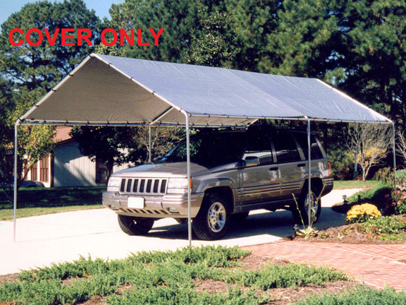 King Canopy Silver Replacement Tarp - For 10u0027 x 20u0027 Canopies & Canopy Silver Replacement Tarp - For 10u0027 x 20u0027 Canopies
