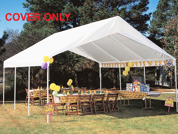 King Canopy White Drawstring Cover For 18 X 20 Canopies