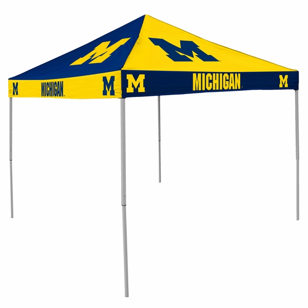 Michigan Wolverines Tailgate Tent Canopy - Checkerboard  sc 1 st  eCanopy.com & Wolverines Tailgate Tent Canopy - Checkerboard