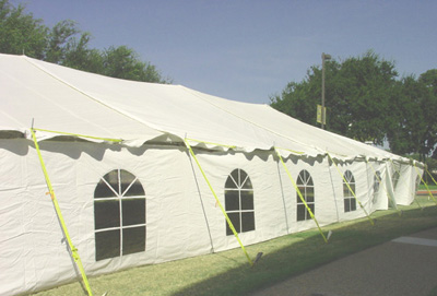 Premier 40 X 100 Ultimate Party Tent - Pole Tent & 40 X 100 Ultimate Party Tent - Pole Tent
