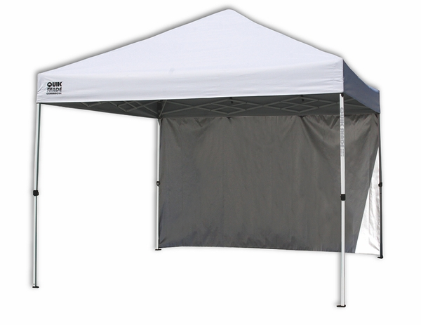 Heavy Duty Instant Canopy : Quik shade commercial c instant canopy with back