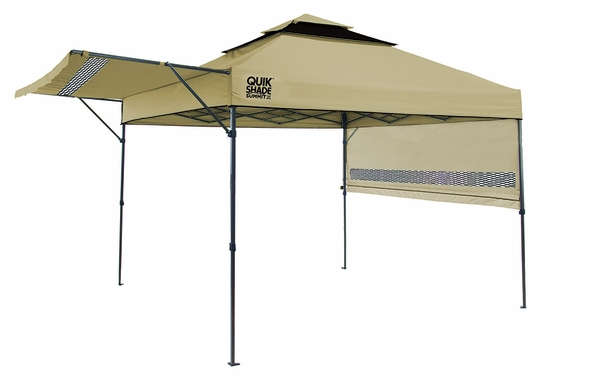 Quik Shade Summit SX170 10x10 Instant Canopy with Adjustable Half Awnings  sc 1 st  eCanopy.com & Shade Summit SX170 10x10 Instant Canopy with Adjustable Half Awnings
