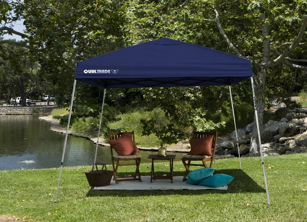 Quik Shade Weekender 81 Instant Canopy Tent - 12 x 12 & Shade Weekender 81 Instant Canopy Tent - 12 x 12