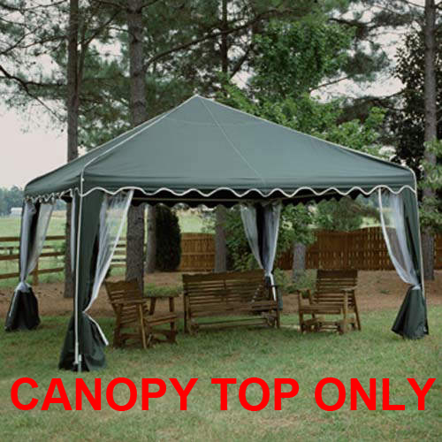 replacement top with screens for 10x10 garden party canopy by king canopy