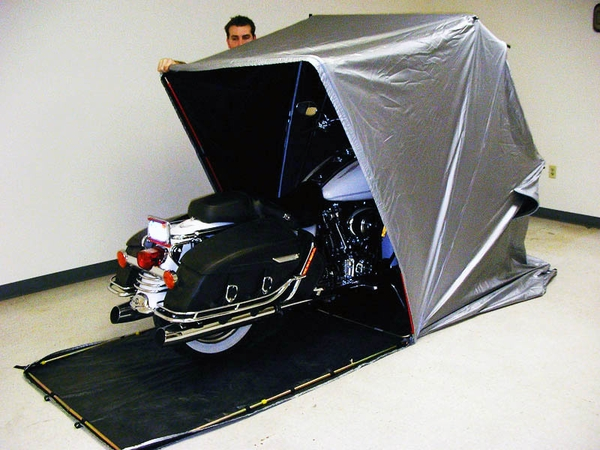 Portable Motorcycle Garage : Motorcycle atv shelters free shipping