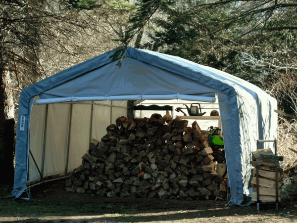 Incredible Rhino Shelter House Style Instant Storage Shed 12 X 12 X 8 Interior Design Ideas Skatsoteloinfo