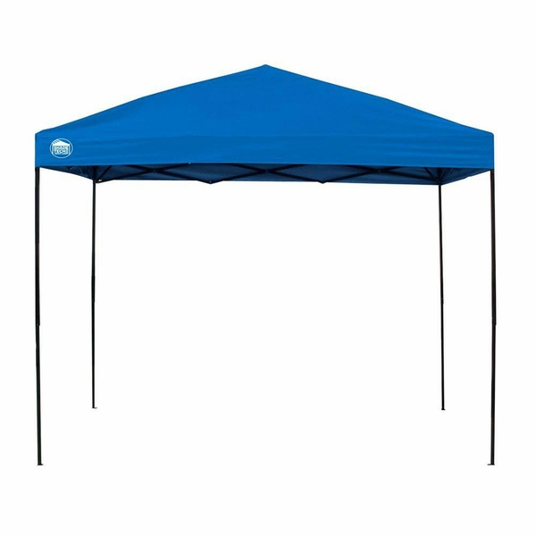 Shade tech ii st100 10x10 instant canopy with slanted legs for 10x10 square feet