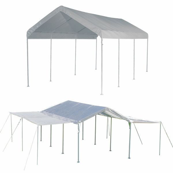ShelterLogic 10 X 20 Max AP 8 Leg Canopy Shelter With Extension Kit