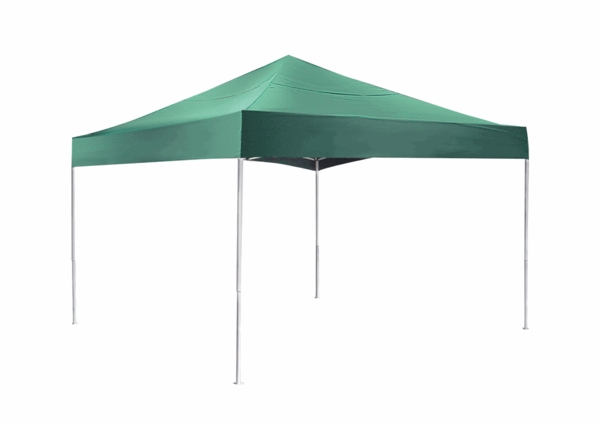 ShelterLogic 12 X Green Pop Up Canopy Tent With Open Ceiling