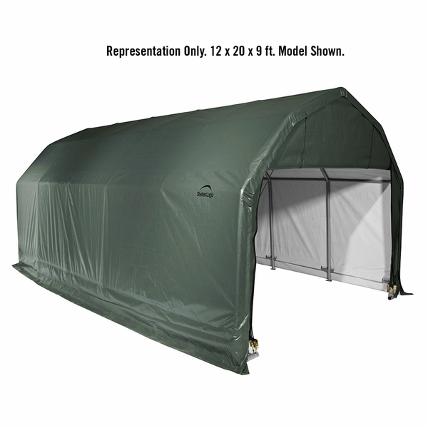 Portable Garage Canopy : Shelterlogic barn style portable garage canopy