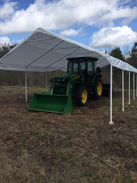 Commercial Canopies And Shelters : Shelterlogic super max commercial grade leg