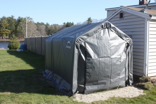 Instant Storage Shed : Shelterlogic instant storage shed canopy
