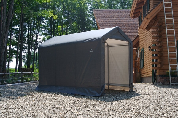 Attractive ShelterLogic 6 X 10 Instant Storage Shed Canopy   70403