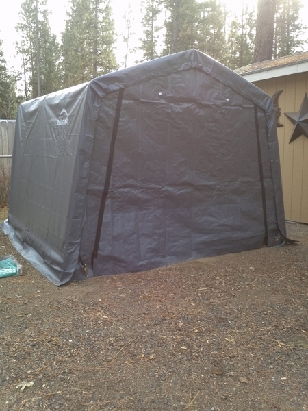 Shelterlogic 8 X 8 Instant Storage Shed Canopy 70423
