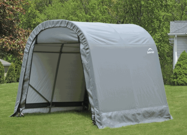 Costco Portable Garages And Shelters : Item portable garage carport car shelter bed