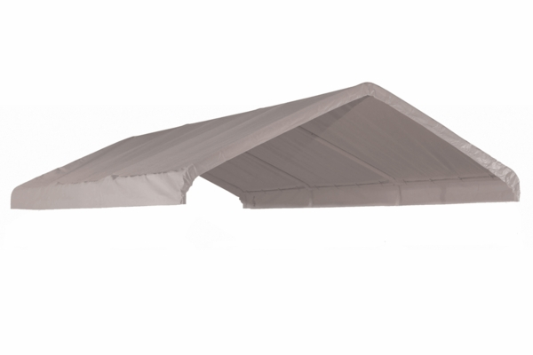 ShelterLogic White Replacement Cover for 10 x 20 Canopy - 1-3/8  Frame - 10072  sc 1 st  eCanopy.com & White Replacement Cover for 10 x 20 Canopy - 1-3/8