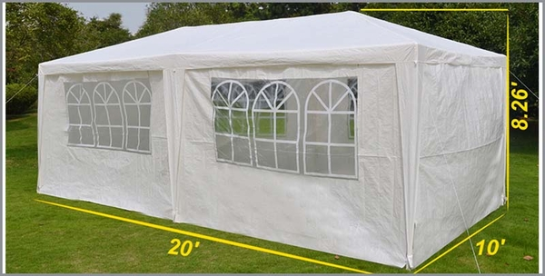 Sunrise Umbrella 10u0027 x 20u0027 Outdoor Wedding Party Tent - G112 : umbrella canopy tent - memphite.com