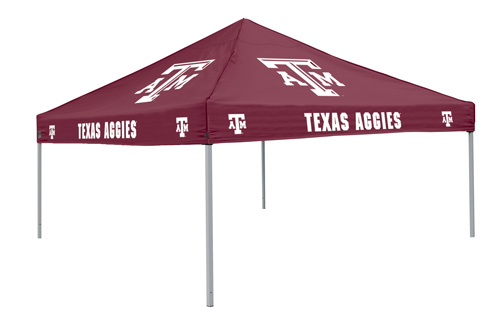 Texas Au0026M Aggies Tailgate Tent Canopy - Colored  sc 1 st  eCanopy.com & Au0026M Aggies Tailgate Tent Canopy - Colored
