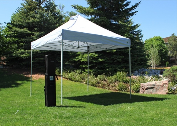 Undercover 10 x 10 Commercial Popup Canopy with Carry Bag + Four Sidewalls & 10 x 10 Commercial Popup Canopy with Carry Bag + Four Sidewalls