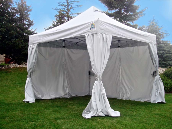 undercover 10x10 r3 commercial vending frame instant canopy with crs enclosure uc3r10crs - 10x10 Tent