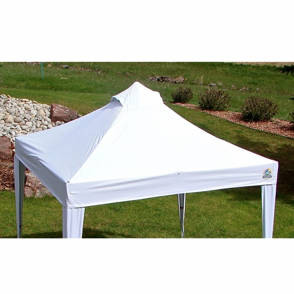 Undercover 300 Denier White Polyester Canopy Top - For 10 x 10 Canopies