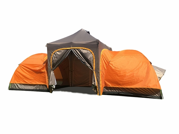 UnderCover APEX Base-C& Tent with Two Sleeping Rooms Up To 144 sq. ft. - UC-APEX  sc 1 st  eCanopy.com & APEX Base-Camp Tent with Two Sleeping Rooms Up To 144 sq. ft ...