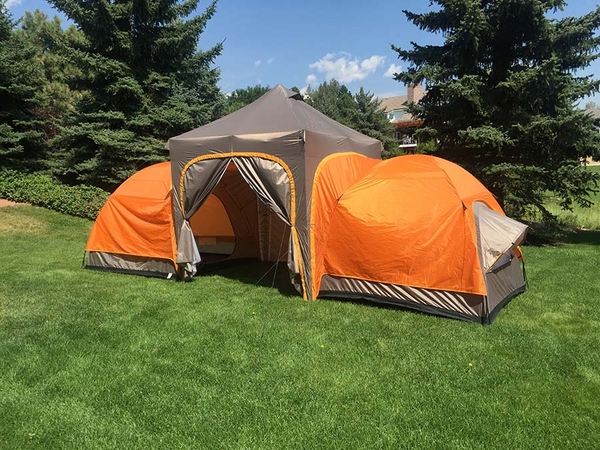UnderCover APEX Base-C& Tent with Two Sleeping Rooms Up To 144 sq. ft. - UC-APEX & APEX Base-Camp Tent with Two Sleeping Rooms Up To 144 sq. ft ...