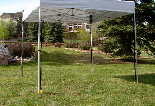 Undercover Canopy Gravity Stakes Anchoring Kit (Set of Four Stakes) : canopy stakes - memphite.com