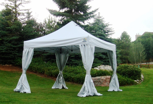 Undercover CRS Polyester Canopy Sidewall Enclosure Kit - Set of Four Sidewalls & Undercover CRS Polyester Canopy Sidewall Enclosure Kit - Set of Four ...