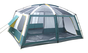 Wildcat Mountain 3 Room Camping Tent