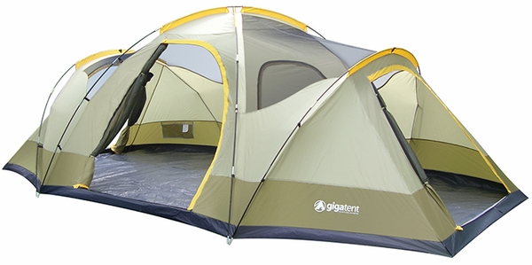 Wolf Mountain 3 Room Family Dome Camping Tent