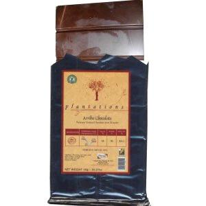 55% Plantations Dark Chocolate Arriba Block. 100% Arriba Cocoa, Rainforest Alliance Certified, Sustainable Cocoa Program. 1kg/2.2lb (Single)