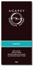 Agapey Almond 60% Cacao 120g (Single)
