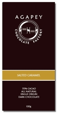 Agapey Salted Caramel 70% Cacao 100 (Pack of 12)