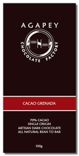 Agapey Cacao Grenada 70% Cacao 100g (Single)
