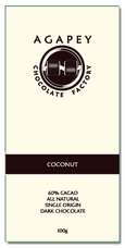Agapey Coconut 60% Cacao 100g (Single)