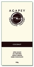 Agapey Coconut 60% Cacao 100g (Pack of 6)