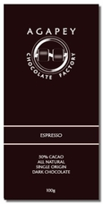 Agapey Espresso 60% Cacao 100g (Single)