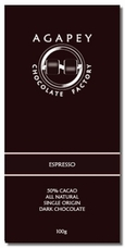 Agapey Espresso 60% Cacao 100g (Pack of 6)