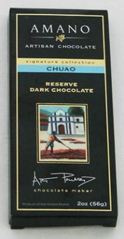 Amano Chuao 70% Cocoa, Reserve Dark Chocolate Bar, 2oz / 56g (12 Pack)