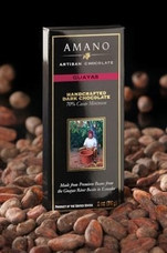 Amano Guayas 70% Cocoa, Dark Chocolate Bar, 2oz / 56g (6 Pack)