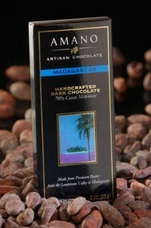 Amano Madagascar 70% Cocoa, Dark Chocolate Bar, 2oz / 56g (Single)