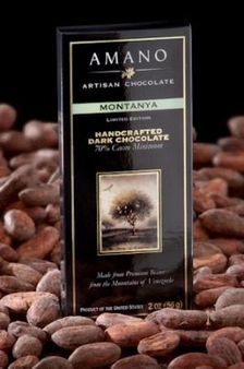Amano Montanya 70% Cocoa, Dark Chocolate Bar, Limited Edition, 2oz / 56g (6 Pack)