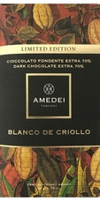Amedei Blanco de Criollo 70% 50g/1.75oz (Pack of 6)